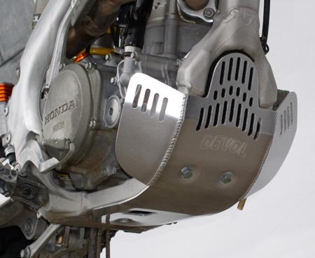 Devol Aluminum Glide And Skid Plates Ktm